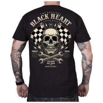 Herren T-Shirt Street - STARTER - BLACK HEART, BLACK HEART