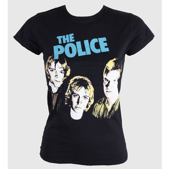 Damen T-Shirt  The Police - Outlandos D'amour - PLASTIC HEAD, PLASTIC HEAD, Police