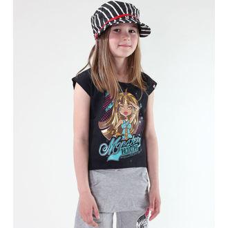 Mädchen T-Shirt Monster High - Black, TV MANIA, Monster High