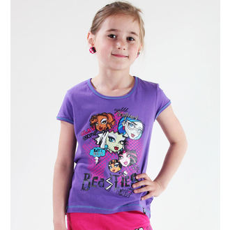 Mädchen T-Shirt Monster High - Purple, TV MANIA, Monster High