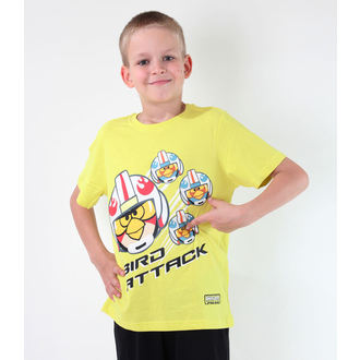 Jungen-T-Shirt  TV MANIA - Angry Birds - Lime, TV MANIA