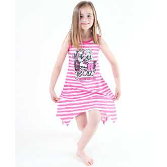 Kleid für Mädchen  TV MANIA - Monster High - White/Pink, TV MANIA, Monster High