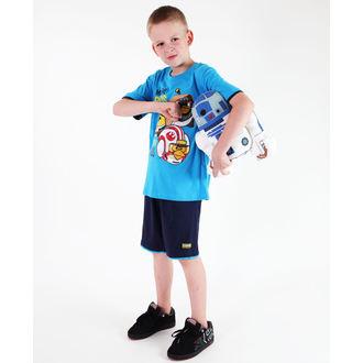 Set für Jungen ( T-Shirt + Shorts) TV MANIA - Angry Birds - Blue, TV MANIA