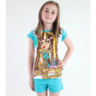 Mädchen Pyjama  TV MANIA - Monster High - White/Turquise, TV MANIA, Monster High
