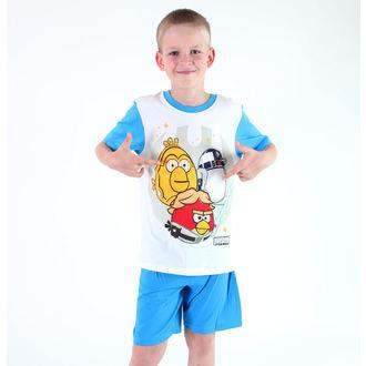 Schlafanzug für Jungen TV MANIA - Angry Birds - White, TV MANIA
