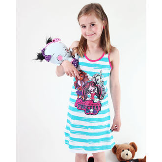 Kleid Mädchen TV MANIA Monster High - White/Turquise, TV MANIA, Monster High
