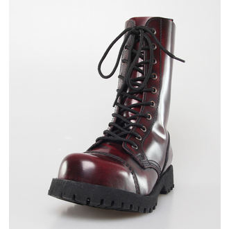 Schuhe NEVERMIND - 10 Loch - Bordeaux Polido, NEVERMIND