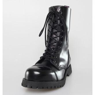 Schuhe NEVERMIND - 10 Loch - Black Polido, NEVERMIND