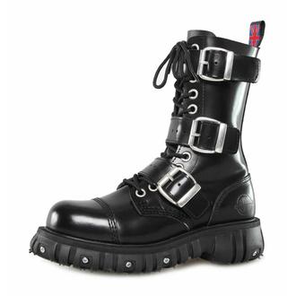 Schuhe NEVERMIND - 12 Loch - Polido Black, NEVERMIND