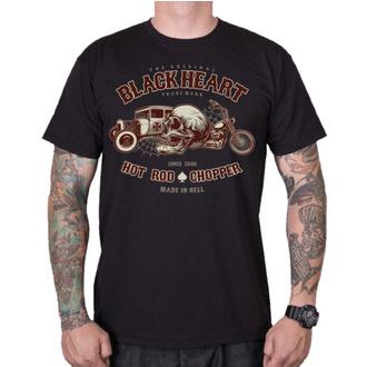 Herren T-Shirt Street - REVELATION - BLACK HEART, BLACK HEART