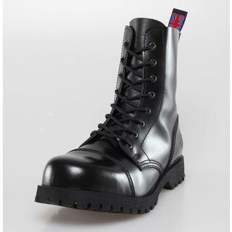 Schuhe NEVERMIND - 8 Loch - Black Polido, NEVERMIND