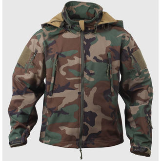 Herrenjacke Frühling/Herbst (softshell) ROTHCO - SPECIAL OPS - WOODLAND, ROTHCO