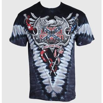 Herren T-Shirt   Lynyrd Skynyrd - Southern Rock Shield - LIQUID BLUE , LIQUID BLUE, Lynyrd Skynyrd