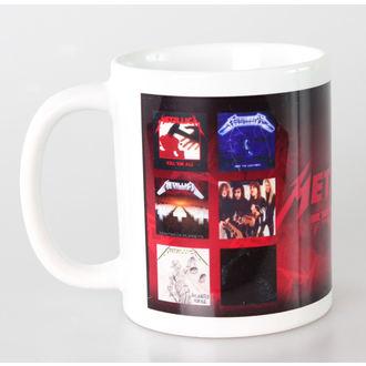 Keramiktasse   Metalllica - Albums - PYRAMID POSTERS, PYRAMID POSTERS, Metallica
