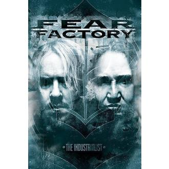 Poster Fear Factory - The Industrialists - PYRAMID POSTERS, PYRAMID POSTERS, Fear Factory