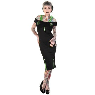Damen Kleid BANNED  - Black Frankenstein and Bride Pencil, BANNED, Frankenstein
