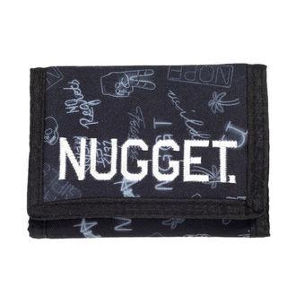 Geldbörse NUGGET - BREAKOUT - D - 1/26/38 - Neon Schwarz, NUGGET