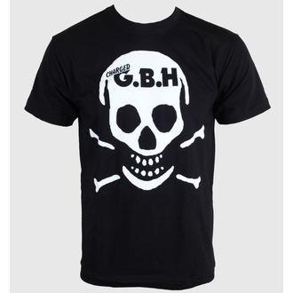 Herren T-Shirt   G.B.H. - Skull - CARTON - 508