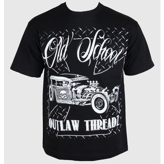 Herren T-Shirt Outlaw Threadz - Old School, OUTLAW THREADZ