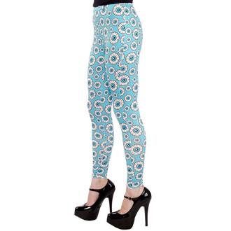 Damen Leggings  SOURPUSS - Optical Delusion - Aqua, SOURPUSS