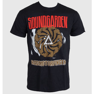 Herren T-Shirt   Soundgarden - Badmotor Finger - Black - ROCK OFF, ROCK OFF, Soundgarden