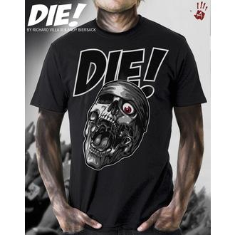 T-Shirt EXHIBIT A GALLERY - Die - Black