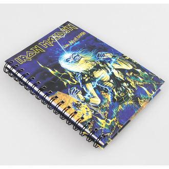 Notizblock Iron Maiden, NNM, Iron Maiden