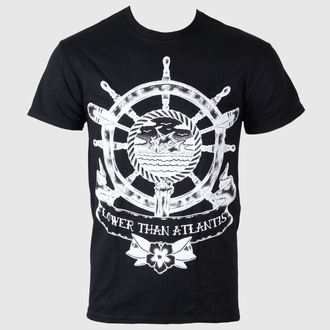 Herren T-Shirt   Lower Than  Atlantis - Sinking Ship - LIVE NATION - Black, LIVE NATION, Lower Than Atlantis