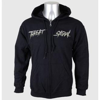 Herren Hoodie Threat Signal - Logo-Grind - Black - JSR, Just Say Rock, Threat Signal
