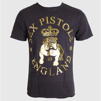 Herren T-Shirt Sex Pistols - Bull Dog Foil - AMPLIFIED - Charcoal, AMPLIFIED, Sex Pistols