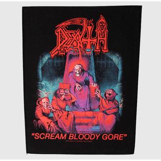 Großer Aufnäher     Death - Scream Bloody Gore - RAZAMATAZ, RAZAMATAZ, Death