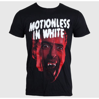 Herren T-Shirt MOTIONLESS IN WEISS - DRACULA - BLACK - LIVE NATION, LIVE NATION, Motionless in White