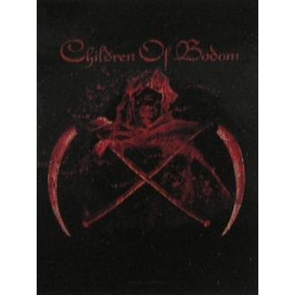 Fahne Children of Bodom - Crossed Scythes, HEART ROCK, Children of Bodom