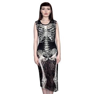 Damen Kleid  KILLSTAR - Skeletor Lace Maxi, KILLSTAR