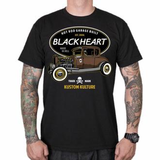 Herren-T-Shirt BLACK HEART - HOT ROD TRADITIONAL, BLACK HEART