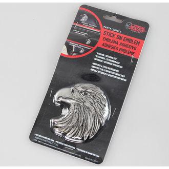 Dekoration ( Auto) LETHAL THREAT - Eagle Head Emblem (Eagle Beak Facing Left), LETHAL THREAT