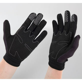 Handschuhe LETHAL THREAT - Bones Hand - Black, LETHAL THREAT