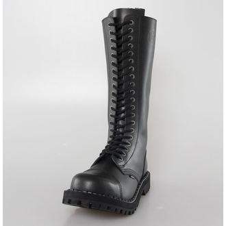 Lederstiefel/Boots STEEL - 20 Loch, STEEL
