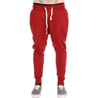 Unisex Trainingshose  3RDAND56th - Carrot Fit Jogger - Claret, 3RDAND56th