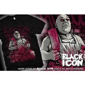 Herren T-Shirt BLACK ICON - Black, BLACK ICON