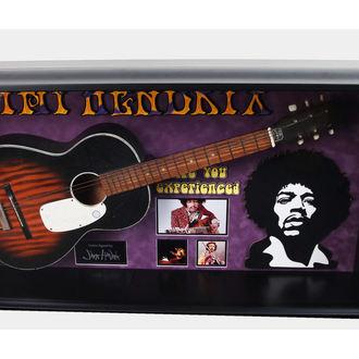 Gitarre mit Unterschrift Jimi Hendrix - ANTIQUITIESCA, ANTIQUITIES CALIFORNIA, Jimi Hendrix