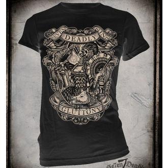 Damen T-Shirt SE7EN DEADLY - Gluttony, SE7EN DEADLY
