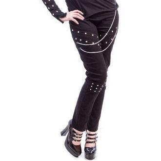 Damen Hose  NECESSARY EVIL - Ghotic - Black, NECESSARY EVIL
