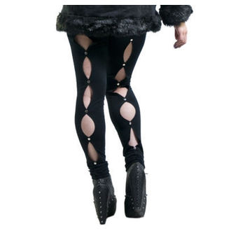 Damen Leggings  NECESSARY EVIL - Circe - Black, NECESSARY EVIL