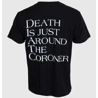 Herren T-Shirt Coroner - No More Color - MASSACRE RECORDS, MASSACRE RECORDS, Coroner
