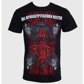 Herren T-Shirt Die Apokalyptischen Reiter - Die Welt Ist Tief 2014 - MASSACRE RECORDS, MASSACRE RECORDS