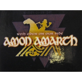 Fahne Amon Amarth - With Oden Your Side, HEART ROCK, Amon Amarth