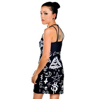 Damen Kleid TOO FAST - Pentagram, TOO FAST