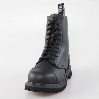 Lederstiefel/Boots Grinders  - 10-Loch - Stag Derby, GRINDERS