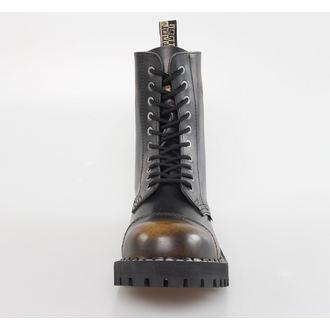 Boots/Springerstiefel STEEL - 10 Loch - Yellow/Black, STEEL